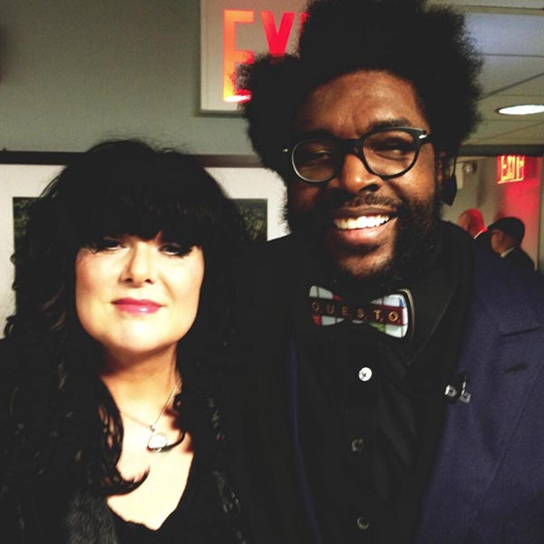 Ann Wilson and Questlove