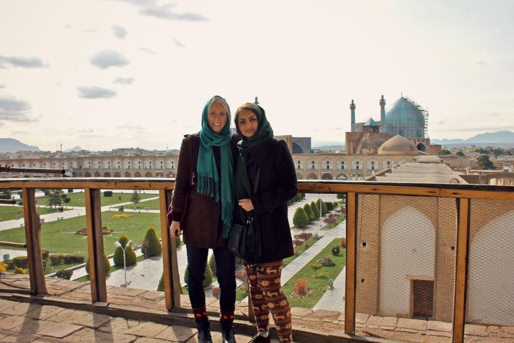 visiting Esfahan, backpack Iran