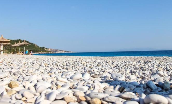 beaches Albanian Riviera Albania