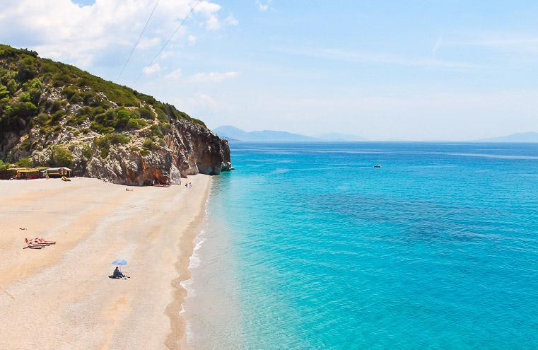 Gjipe Beach Albania