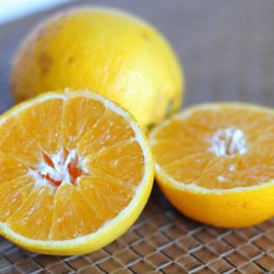 Valencia Orange Glazed Sweet Potatoes