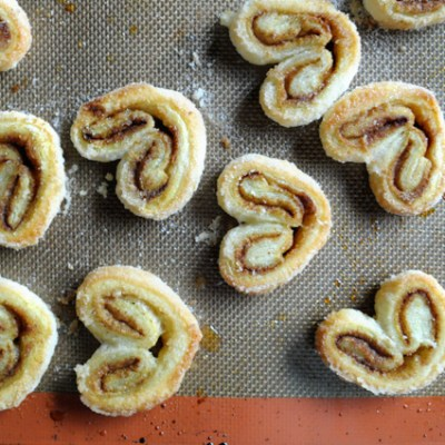 Indian-Spiced Palmiers