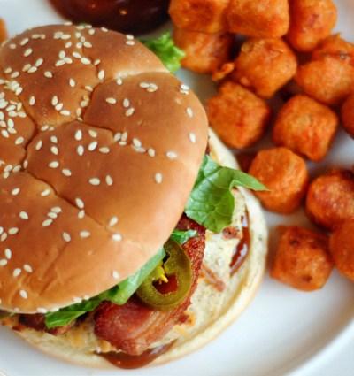 BBQ Ranch Jalapeno Chicken Burgers