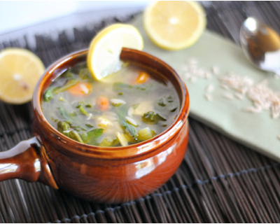 Lemon Chicken Orzo Soup + All Things Healthfully Decadent