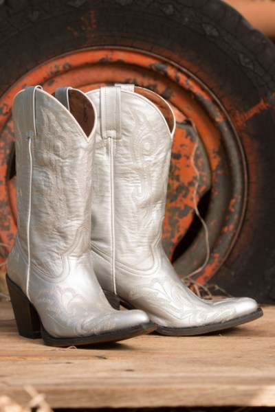 Fall Style: Silver Boots