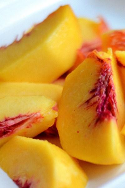 Coconut Peach Slush
