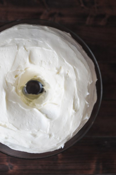 Carrot Apple Cake with Maple Cream Cheese Frosting