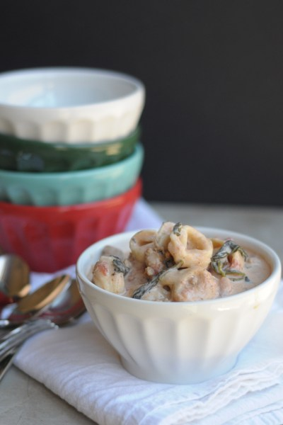 From the Archives: Slow Cooker Creamy Tortellini Soup