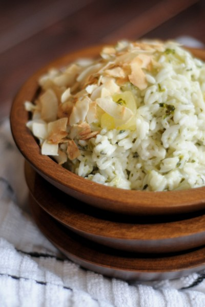 Coconut Pineapple Cilantro Rice