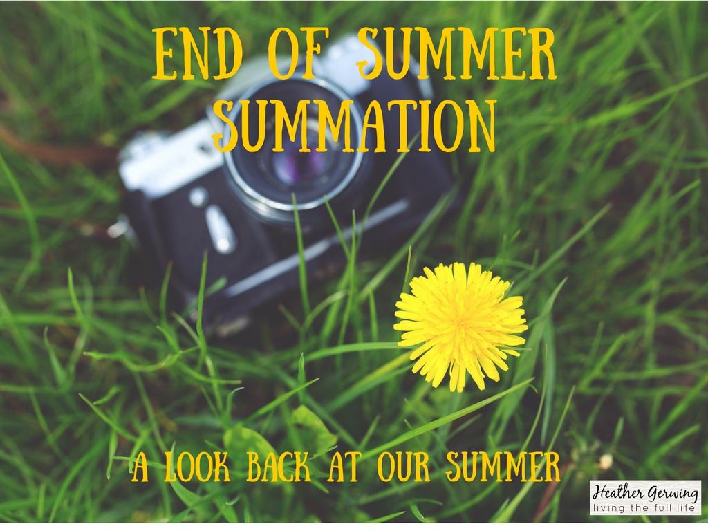 End Of Summer Summation