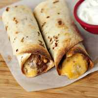 Freezer Friendly Bean and Cheese Roll Ups