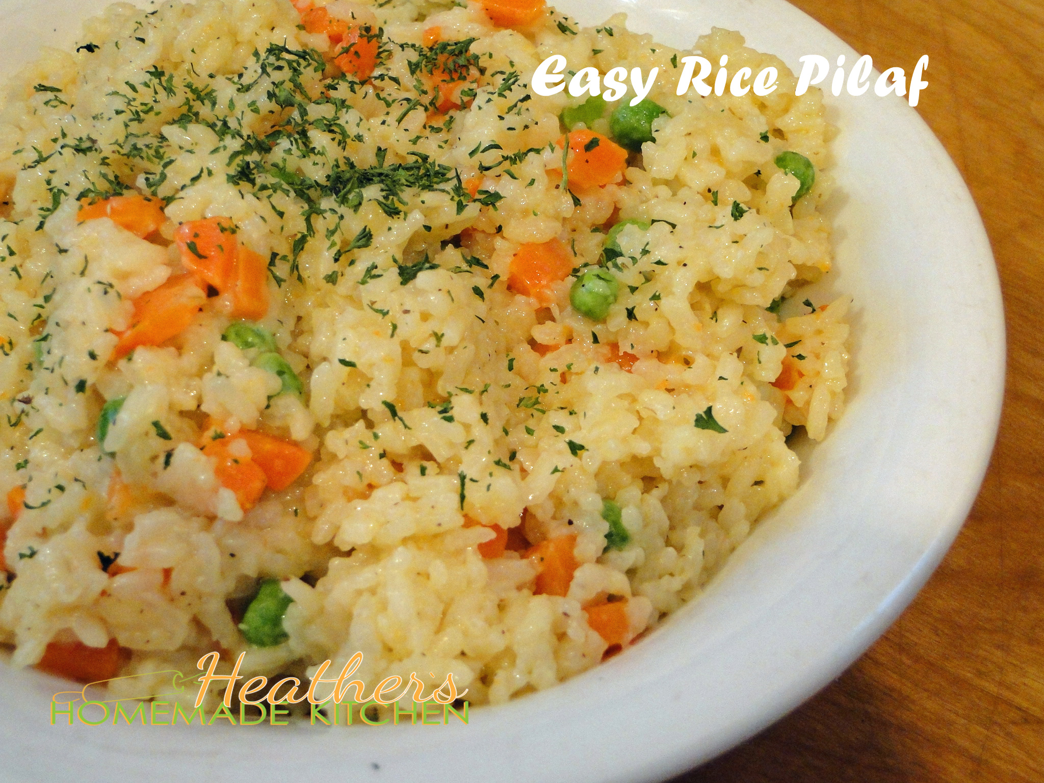 how to make homemade rice pilaf