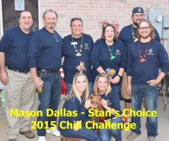 Mason Dallas - Stan's Choice HEB Chamber Chili Challenge Winners 2015