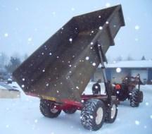 big dump trailer
