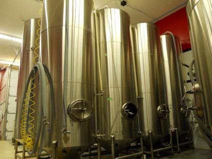 30 barrel stainless fermenters