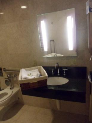 America Club J Shower amenities