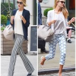 Printed Pants, Two Ways
