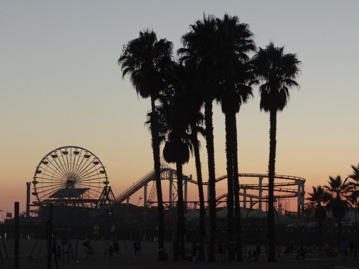 California Road Trip Itinerary - Santa Monica Pier