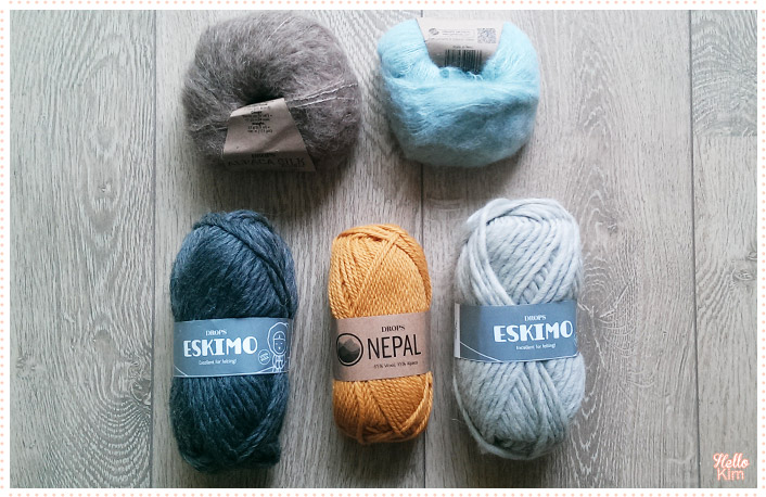 Pelotes DROPS Eskimo, Nepal et Alpaca Silk