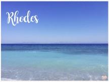 <span>Destination</span> Rhodes pour cet été