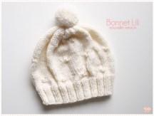 <span>Tricot layette</span> Le bonnet Lili V2