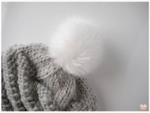 <span>Tricot</span> Le bonnet Whirlwind version pomponnée