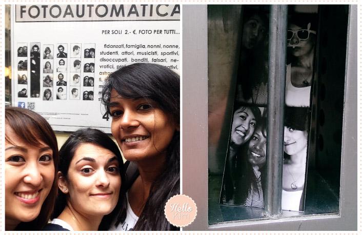 Florence 05.2014 - Photomaton en noir&blanc