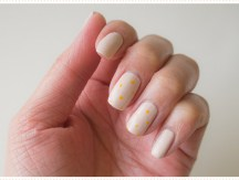 <span>Nail art</span> Tiny little dots