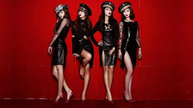 SISTAR's sexy image help them stand out from the crowded K-pop scene. Picture: The One Shots