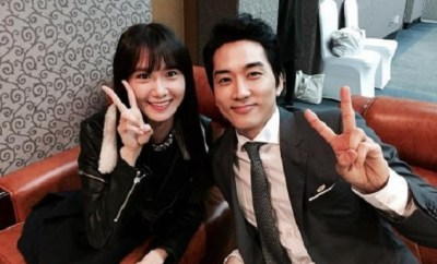 20150423_Song Seung Hun_ SNSD's_ Yoona_ Appointed_ as_ Ambassadors_ for_ National_ Tax_ Service