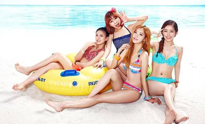 10 Female Kpop Idols Looking Stunning In Swimsuits