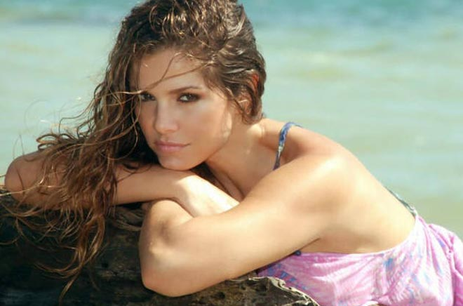 Bachelor Juan Pablo's ex-wife Carla Rodriquez.