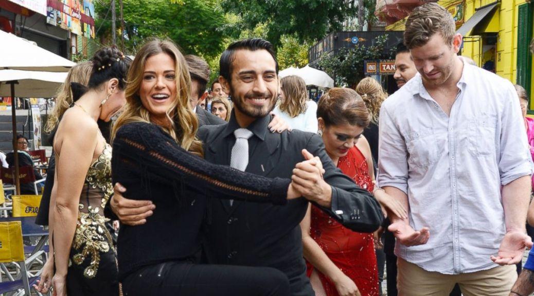 JoJo the Bachelorette visits Argentina