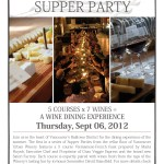 Railtown Supper Party at Vancouver Urban Winery on September 6, 2012