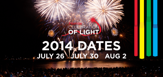 Celebration of Light 2014 Dates