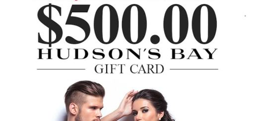 Enter for a Chance to Win a $500 Hudson's Bay Gift Card 2
