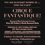 Cirque Fantastique! The Sixth Annual Face of Today Gala is expected to break records under the big top.