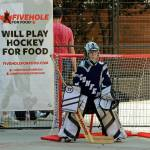 "Five Hole for Food Asks, ""Vancouver, Will You Play Hockey for Food?"""