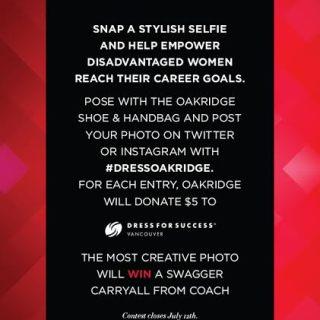 Oakridge Centre Pose, Post & Empower!