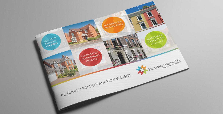 Hammer Price Homes Brochure Design