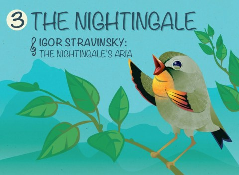 Illustrated Nightingale Stravinsky