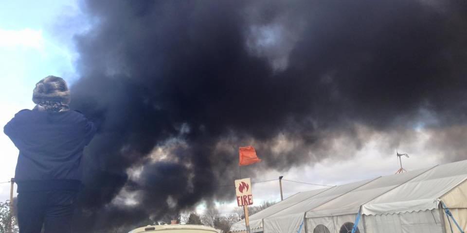 Calais camp demolition begins (2)