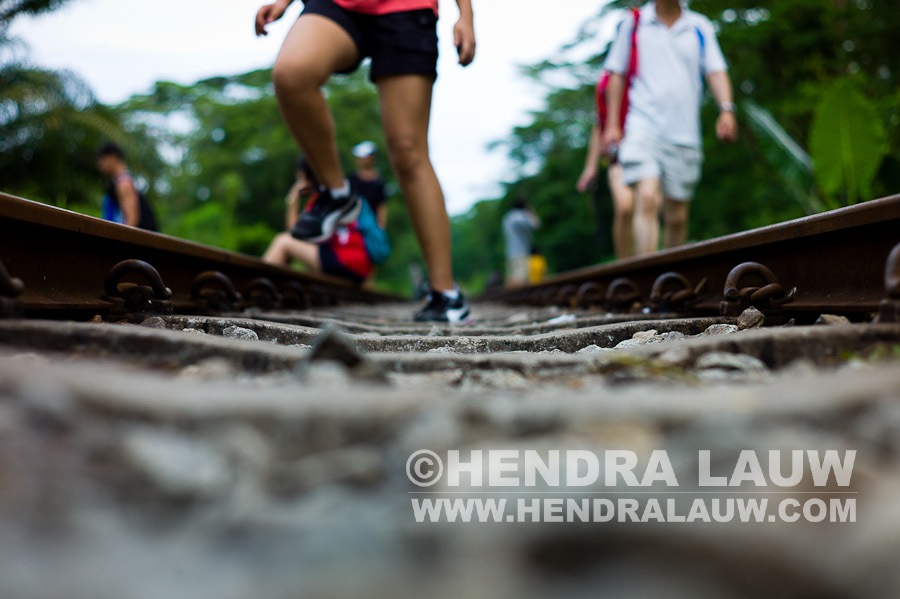 A Slice of Memory of the Singapore – Malaysia Railway Track