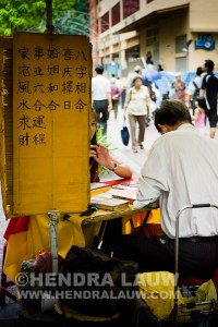 Street Photography in Singapore – Fortune Teller