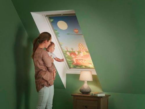 Henke Dachdecker und Zimmerei für Bückeburg  - VELUX Deutschland GmbH: Mit Disney träumen - Verdunkelungsrollos gibt es bei VELUX jetzt auch mit Motiven von Disney
