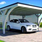 Henke Solartechnik - SOLARWATT: Auch das Carport kann als Energiespender für Solarstrom dienen.