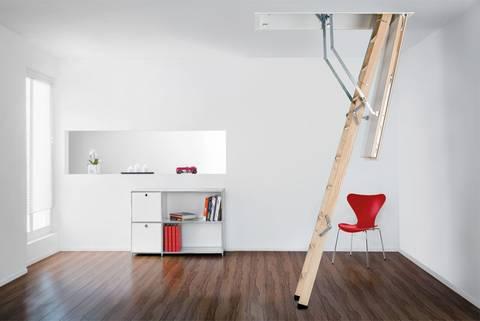 Henke Zimmerei für Bückeburg - Columbus Treppen GmbH: Die neueste Dachtreppengeneration Bodentreppe Designo – so dicht wie ein Fenster
