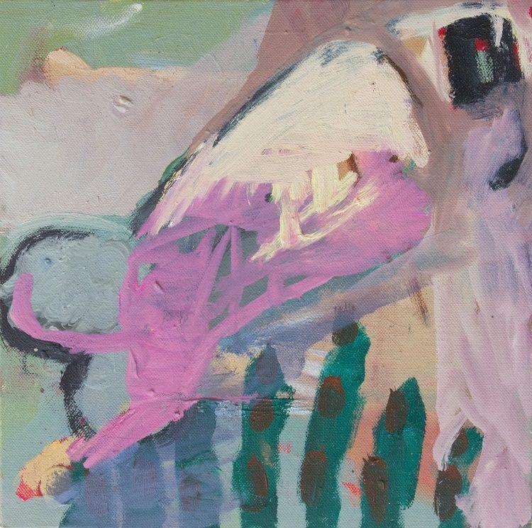 Oil on canvas. 30cm x 30cm.