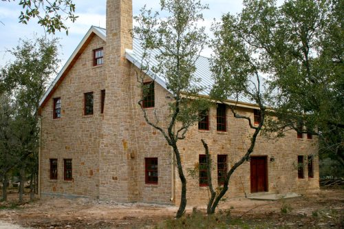 Medium Of Rustic Country Home