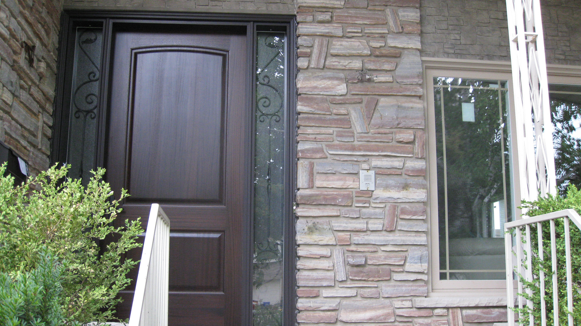 A bright beautiful home with new windows and doors for New front door and windows